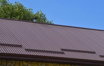typical  corrugated roof uses